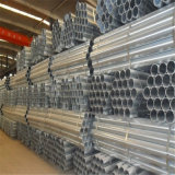Tubo galvanizzato dell'acciaio della struttura ricoperto zinco rotondo laminato a caldo di ERW