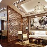 Divisores decorativos cortados laser de la sala de estar del acero inoxidable
