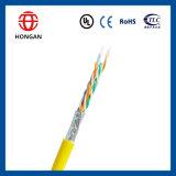 Cable de datos de los conductores del CCA 8 de ftp verificado Cat5e del surtidor