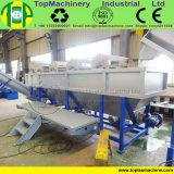 젖은 밀러와 가진 세척 농업 필름 분쇄를 위한 선을 재생하는 Tfwl300~500kg/H PE 필름