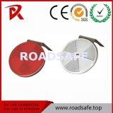 Signe de la circulation réflecteur circulaire délinéateur réfléchissant ronde rambarde