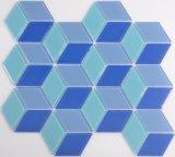 Mosaico de vidrio de color de diamantes para la cocina