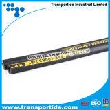 Boyaux hydrauliques de tresse de fibre de SAE R3