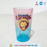 Löwe-Metall der Farben-480ml beschriftet Glaswaren für Geschenk