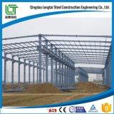 Vertiente de la estructura de acero