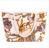 형식 핸드백 새로운 휴대용 바닷가 부대 간단한 면 밧줄 어깨에 매는 가방