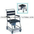 Fabricante da cadeira de rodas de reclinação do Commode, com alta qualidade