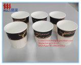 Tazas de café de papel desechables