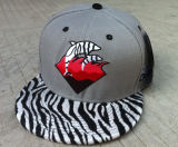 Tejido 5 Panel Camper Plaid Hat Sports Cap