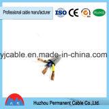 Alambre flexible a prueba de calor Rvvb del PVC de la base de cobre