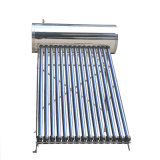Stainless Steel Unpressure Aquecedores solares de água