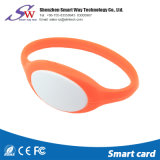 Bracelet en nylon de silicones d'hôpital d'IDENTIFICATION RF de NFC