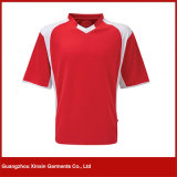 V camiseta de la impresión del cuello para el verano (R20)