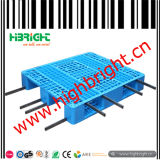 Páletes plásticas do HDPE resistente com frame de aço forte da câmara de ar