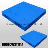 1100X1100X150 millimètre Reversible Hygeian Plastic Pallet avec des paquets de Double Faced Closed