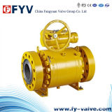 API 6D High Pressure Pneumatic Trunnion Ball Valve