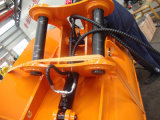Cubeta de lama da inclinação da máquina escavadora, cubeta limpa