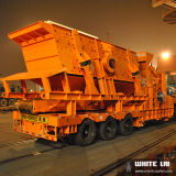Usine de broyage d'impact mobile, portable Crusher