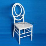2017 Banquetes de casamento branco Hotel Clear Resin Phoenix Chairs