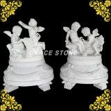 Statue pour enfants en marbre gravé en quatre saisons