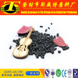 En columnas de color negro base de carbón el carbón activado de máscara de gas