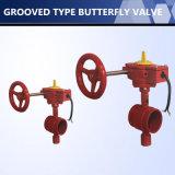 Válvula de borboleta da flange de alta qualidade para o Controle de Fluxo de Água