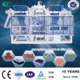 Tejido doble máquina de fabricación de ladrillos, el pleno de la línea de producción (QT10-15A)