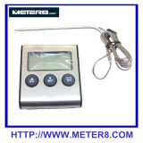 DTH-24 Termómetro Alimentar Digital com Sensor de alta temperatura e temporizador