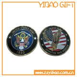 Preiswertes Custom Antique Brass Awards Coin für Souvenir (YB-c-012)