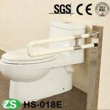 Безопасность Поднимает-вверх штангу самосхвата с нейлоном для туалета или ванной комнаты