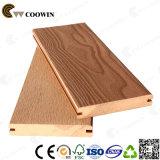 Decking composito di plastica di legno del composto della scanalatura del bacino