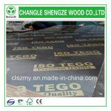 El pegamento fenólico 9m m imprimió la madera contrachapada hecha frente película de la insignia