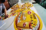 Segni tagliati della scheda della gomma piuma del PVC di stampa di colore completo da vendere