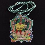 Impresión Offset de latón personalizada con medallas de borde de metal para regalo de recuerdo de aniversario