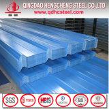 Hoja de acero galvanizada prepintada del material para techos