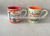 tazza del regalo 10oz, tazza di ceramica del regalo, tazza di ceramica di festival