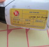 Étage noir et blanc de PVC de couleur