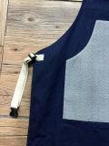 Waxed Canvas Womens Shop Apron com Cotton Webbing