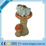 Design populares Polyresin Decoração Jardim Cogumelo de resina