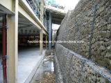 Projet de conservation de l'eau hexagonale Boîte de gabions tissé