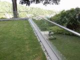 Decking를 위한 강화 유리 위원회를 가진 알루미늄 U 채널 유리제 난간