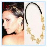 Las hojas de oro de la boda la novia de moda Accesorios de Cabello