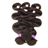 Onda do rei Brasileiro Virgin Cabelo Corpo 4 pacotes do cabelo brasileiro da onda do corpo do Virgin barato 100 não processado do Weave dos pacotes do cabelo humano de 8A