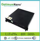 Telecom Backup Power Supplyのための48V 50ah LiFePO4 Battery