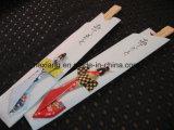 Se pueden imprimir Envuelto de plástico palillos de bambú mayorista