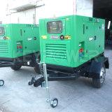 銅の交流発電機の発電機、3、40kw、50kVA可動装置またはトレーラーのタイプは段階的に行なう