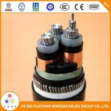 Mittleres Tiefbau11kv 15kv 33kv XLPE Energien-Kabel des Spannungs-Energien-Kabel-