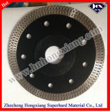125mm Hot Press Turbo Diamond Saw Blade pour Granit de Marbre