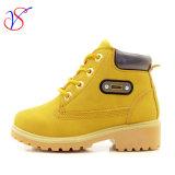 Приспособленная семьей работа деятельности безопасности впрыски детей малышей Boots ботинки для напольной работы (SVWK-1609-040 TAN)