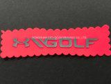 Personalizar el logotipo de la transferencia de calor de silicona para accesorios